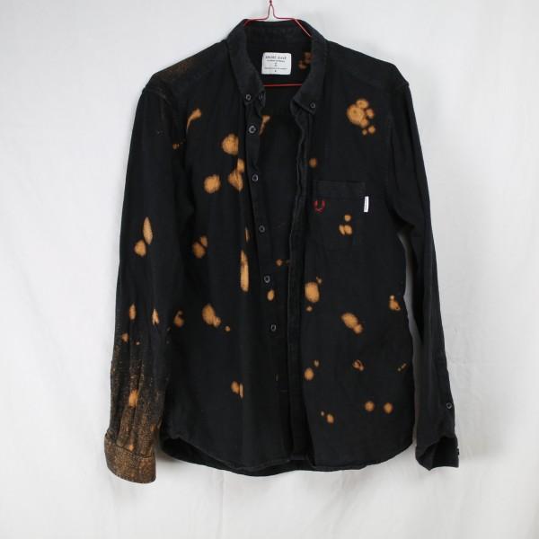 B&B Vol. 2 Shirt Burnt - Black Button Down Shirt M