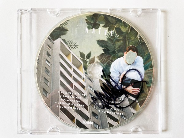 Elmäx - NAÏVE CD (mit Unterschrift)