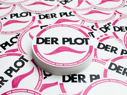 50 Plot-Sticker