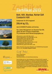 sweeep.de & DHL Go Green - für das Klima