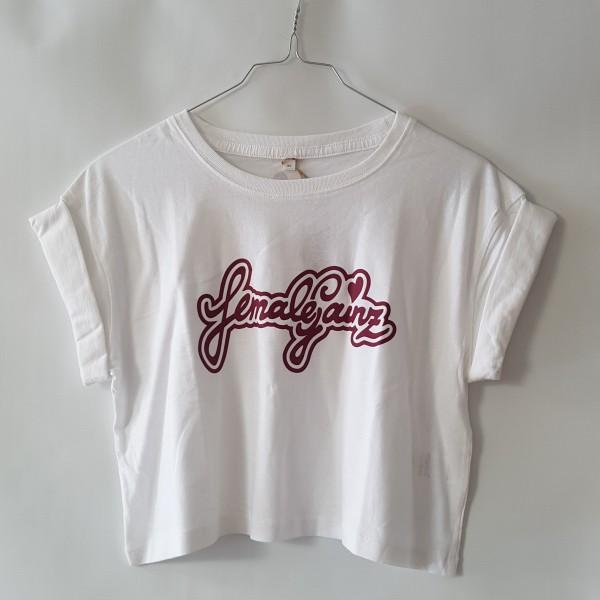 femalegainz Cropped-Shirt Classic