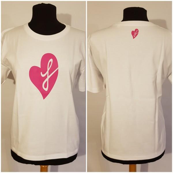 """femalegainz T-Shirt """"Herz"""" (versch. Farben)"""