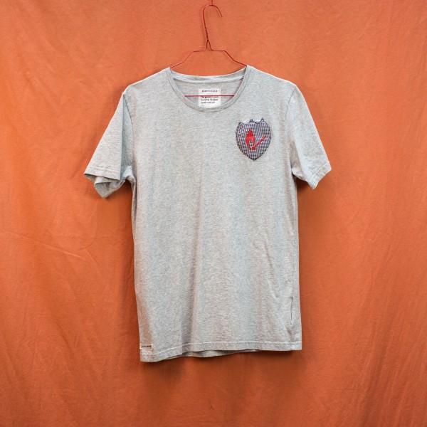 B&B Patch Shirt - Grey Tee M