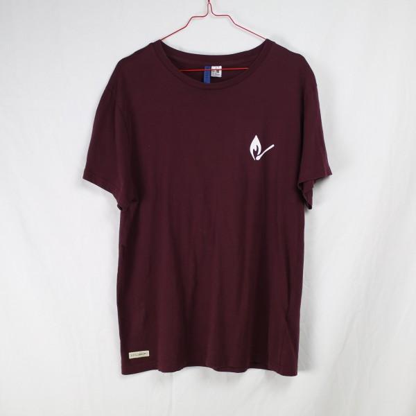 B&B Vol. 2 Shirt - Bordeaux Tee L