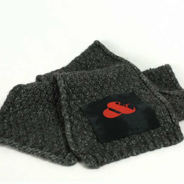 B&B Vol. 3 Scarf - Dark Grey