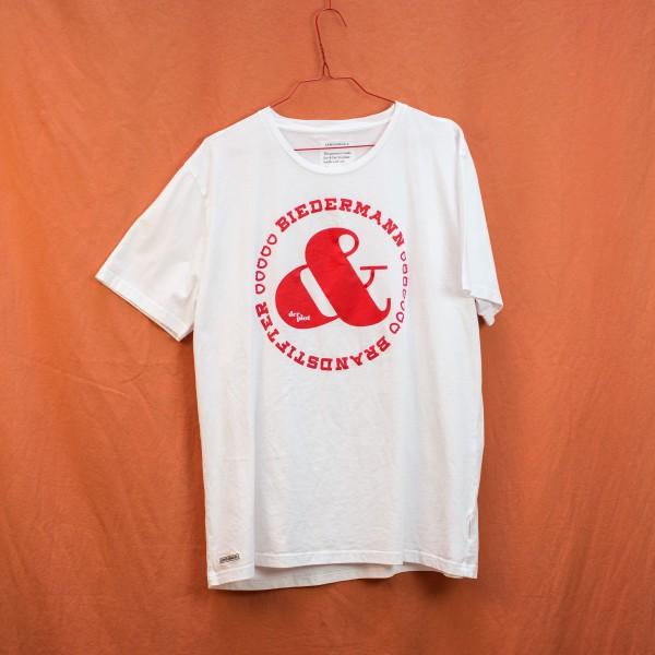 B&B Shirt (Big Print) - White Tee XL