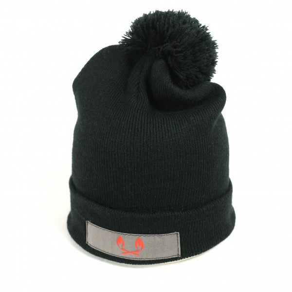 B&B Vol. 3 Pom Pom Beanie - Black