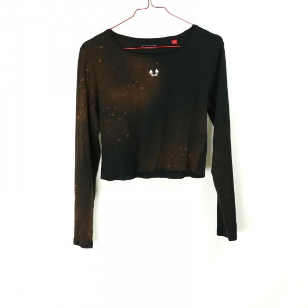 B&B Vol. 3 Shirt - Croptop Black L
